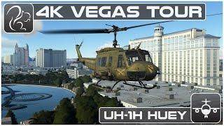 4K Gaming - Huey Tour of Vegas (DCS World)