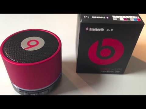 Beatbox by Dr. Dre HD mini bluetooth 4.0 / aux/ TF card speaker s11 unboxing and sound test  (HD)