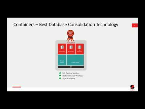 Containerizing Oracle Not thinking about it yet You should be!