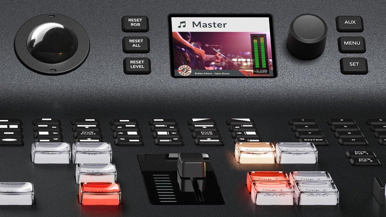 Blackmagic Design Atem Television Studio Switchers Youtube