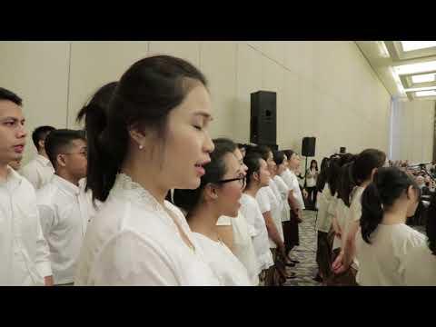 Melati Suci @ Opening Ceremony of 30th WECOC 2018