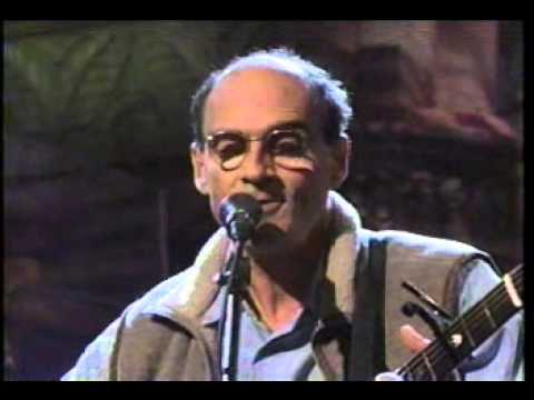 Line En Up & Interview - James Taylor and Sally on Letterman