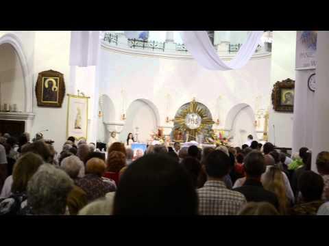 Служба в Минском костеле
