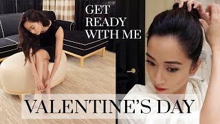 Get Ready With Me Valentine's Day, valentine's day, grwm