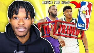 i traded every nba teams' best player and it destroyed the league...