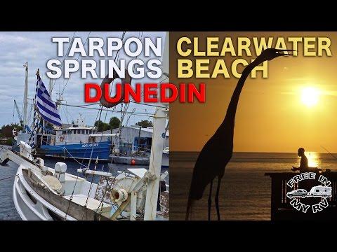 Tarpon Springs, Dunedin, and Clearwater Beach - Traveling Robert