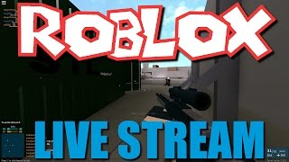 Roblox Live Stream! 11/20/16 (Phantom Forces, Work at a Pizza Place, The Plaza)
