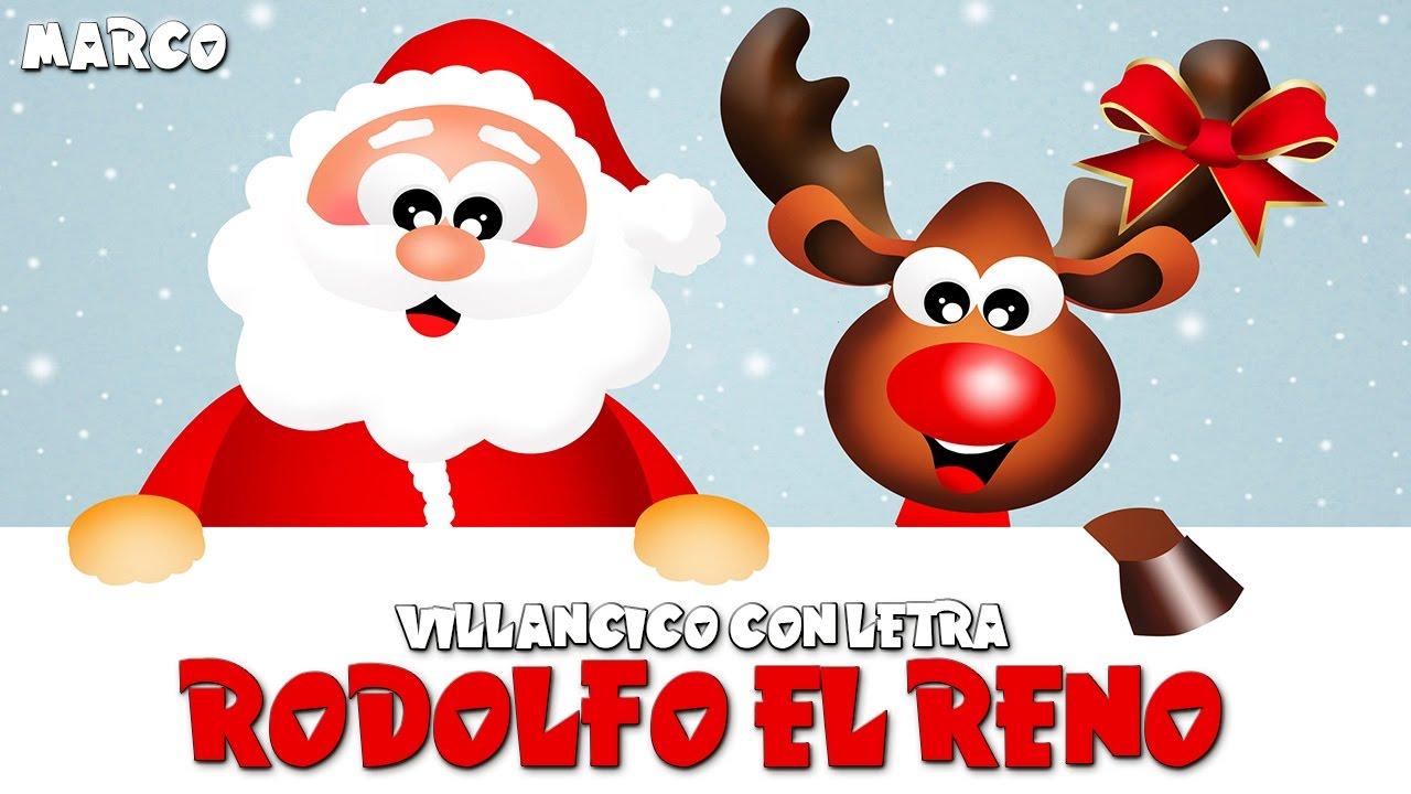 Rodolfo el reno letra villancicos navide os canciones de for Dibujos de renos en navidad