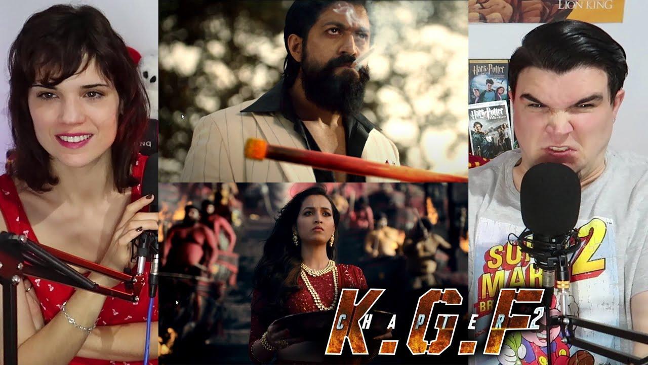 Download KGF Chapter 2 TEASER   Yash   Sanjay Dutt   Raveena Tandon   Srinidhi Shetty - Reaction