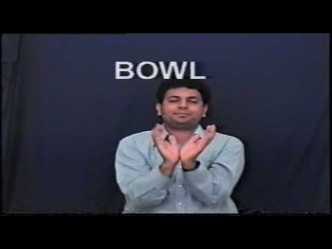 Indian Sign Language - Dictionary Part 1 -Old