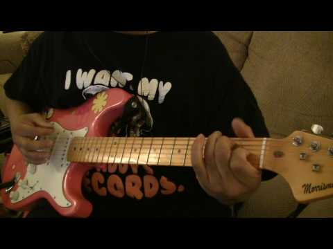 Rolling Stones - Angie- Guitar Chords lesson