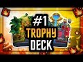 BEST LADDER DECK | EASIEST DECK for TROPHY Pushing ARENA 9-12 | NO LEGENDARY CARDS