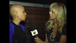 "RHYME SHOW HOST KARI ADAMS W/ CANCER FIGHTER ""DORIVEE SHAPIRO"". 12/07/2013 RED CARPET EVENT @ TULSI!"