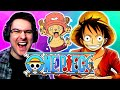 - ONE PIECE Opening 1-22 REACTION   Anime OP Reaction