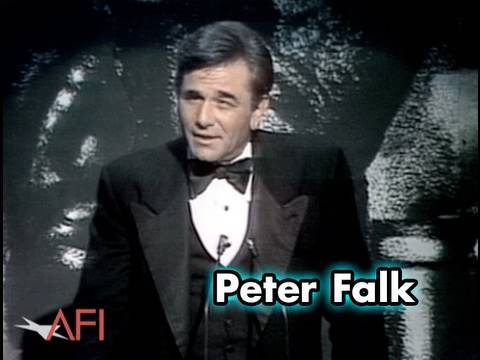 Peter Falk Salutes Frank Capra at AFI Life Achievement Award