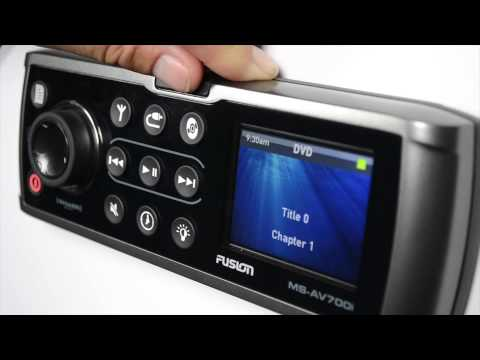 Users guide to the FUSION Marine Stereo