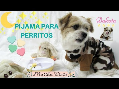 Como Hacer- Pijama  Para Perritos ¡Super Fácil! Pajamas for dogs-DIY.