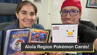 Pokémon Alola Region 25th Anniversary Jumbo Packs