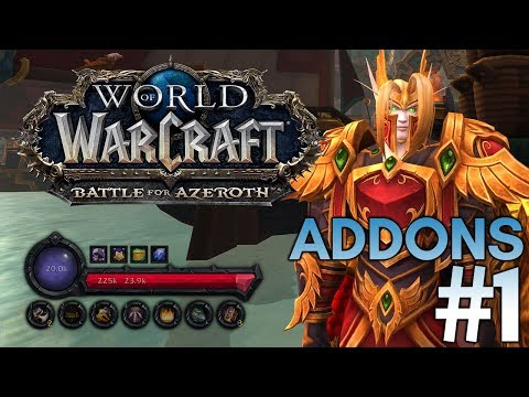 Immersive UI Overhaul And More! World of Warcraft Addons #1