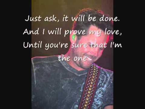 Gary Allan-The One Lyrics