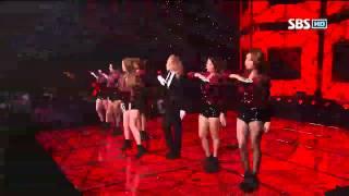 티아라 Sexy Love @SBS Inkigayo 인기가요 20121014