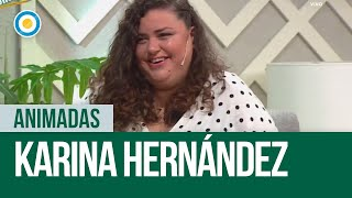 Karina Hernández en #Animadas