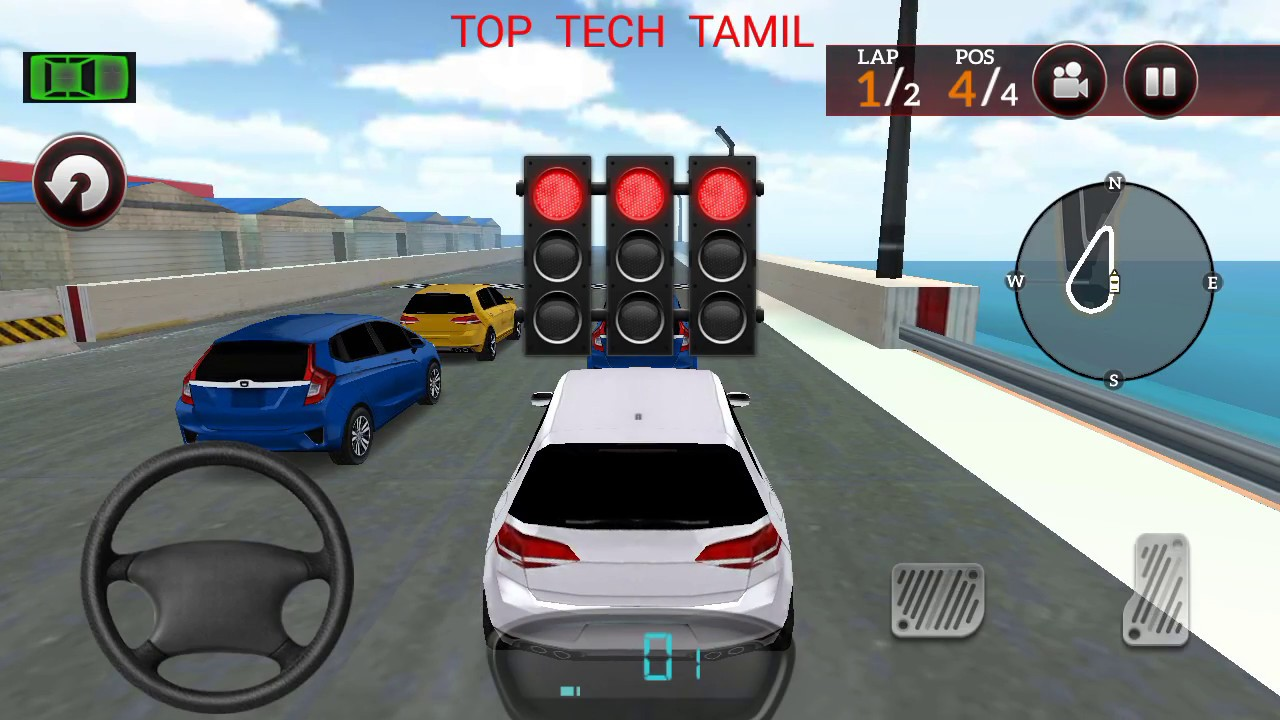 Car Race Game Top Tech Tamil Youtube