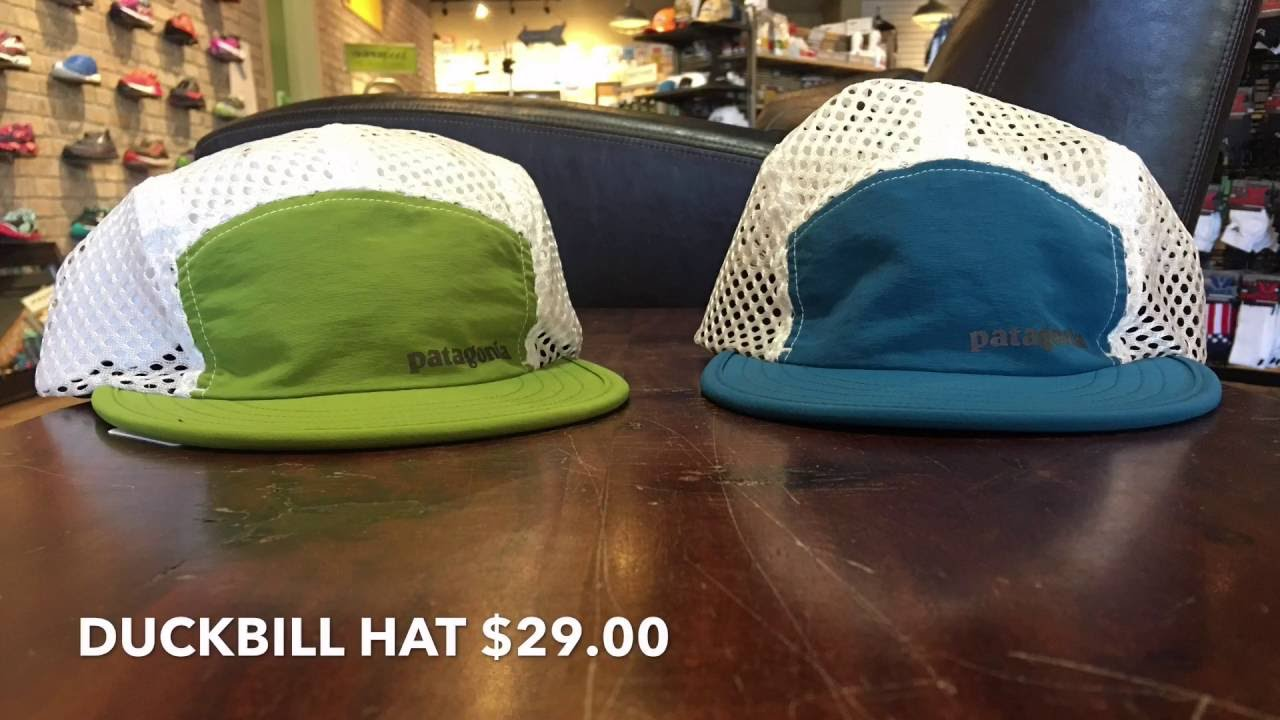 e8bae68729a Patagonia Duckbill Hats- Running Gear Review - YouTube