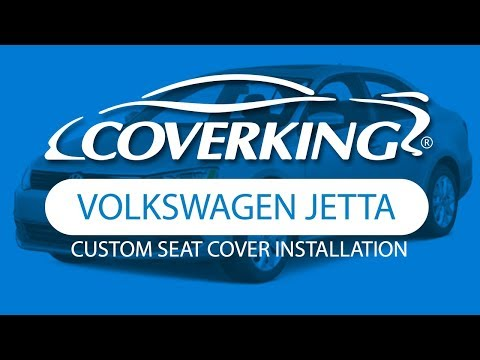 How to Install 2011-2014 Volkswagen Jetta Custom Seat Covers | COVERKING®