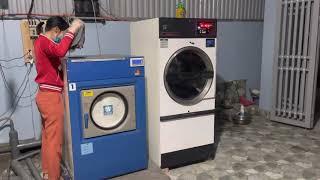 Trọn bộ 3 Máy Giặt, Máy Sấy Công Nghiệp , Máy Giặt Khô chỉ 99 triệu
