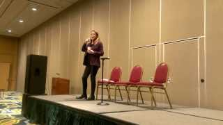 Claudia Christian Q&A at Space City Con 2014 - Voice Acting & Singing