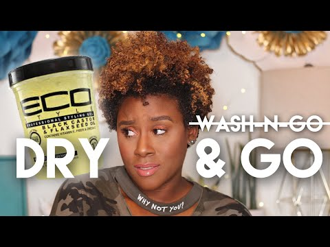 Wash-n-Go??? NO DRY & GO Trial + Tutorial