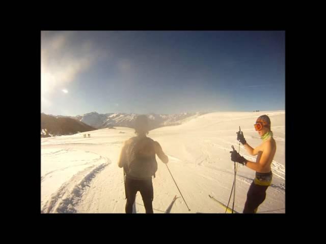 Crmpck ski de fond Beille 2013 Gopro