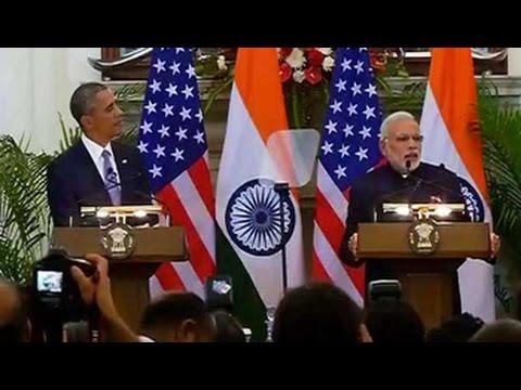 PM Modi-Barack Obamas joint press conference
