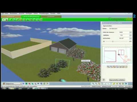 Franzis 3D Gartenplaner CAD System für Grünanlagen