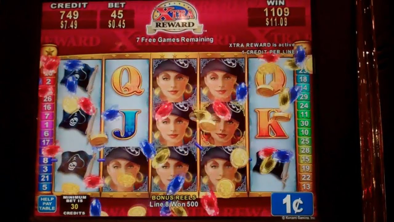 Pirate Rose Slot Machine
