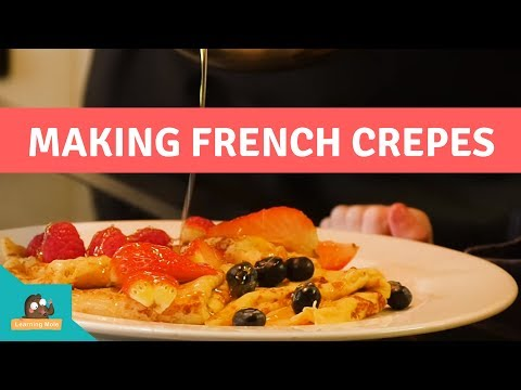 Belfast Cookery School - French Crepe Recipe for Kids