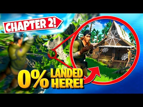 *NEW* Exploring SECRET LOCATIONS That 0% Of Players HAVE ACTUALLY LANDED AT! (Battle Royale)