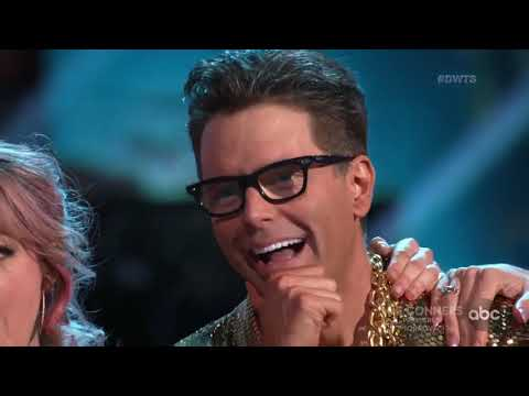 "HD Bobby Bones ft. Lindsey Stirling and Sharna ""Cha Cha"" - DWTS Week 4: Trios 