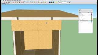 Cube Affordable Housing - Plans For Qb-25 (sketchup Model)