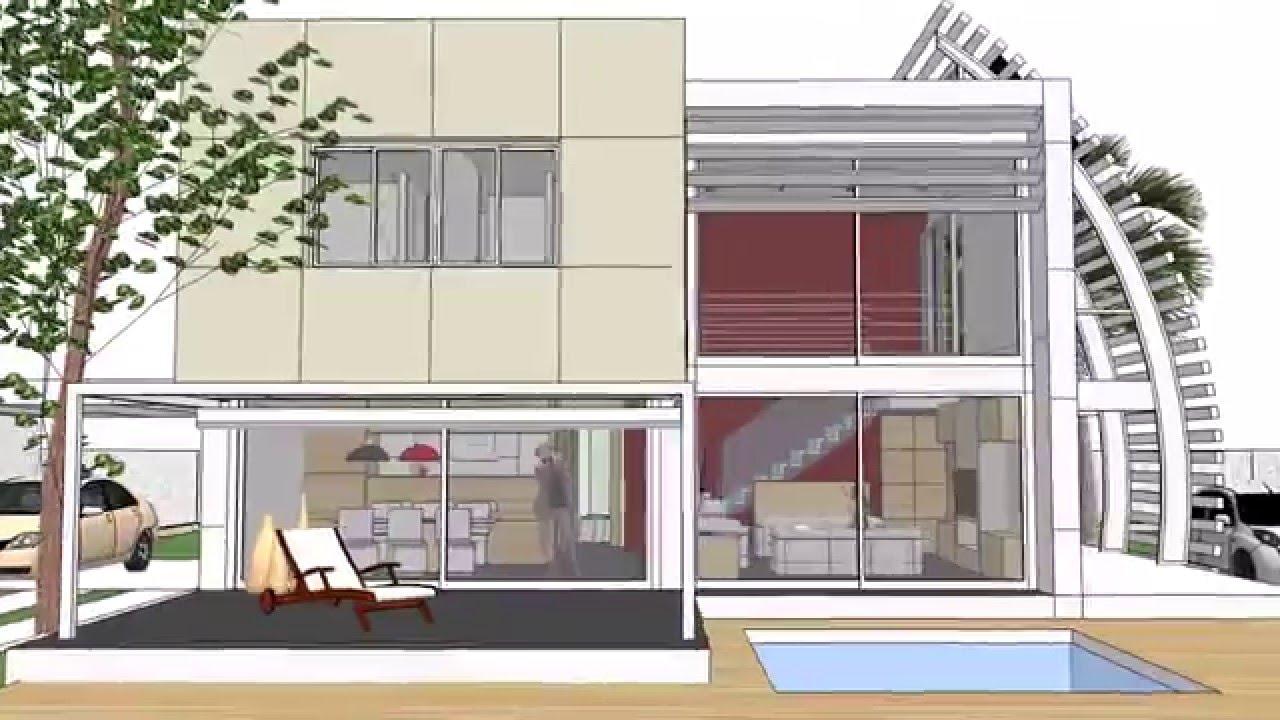 Taller de arquitectura tarragona casa minimalista 3 youtube for Casa minimalista arquitectura