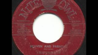 CHANTS HEAVEN AND PARADISE WHEN I M WITH YOU NITE OWL 40 1960 GREAT BRITAIN