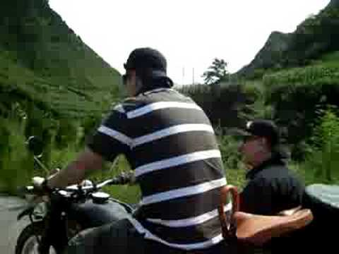 CJ750 Josh Ride to Great Wall of China