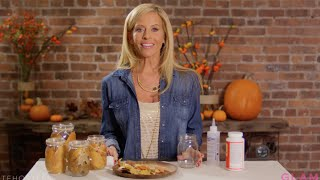 DIY with Dina Manzo: Fall Crafts with Leaves | Haute Hostess
