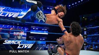 FULL MATCH: Jinder Mahal vs. AJ Styles – WWE Title Match: SmackDown LIVE, November 7, 2017