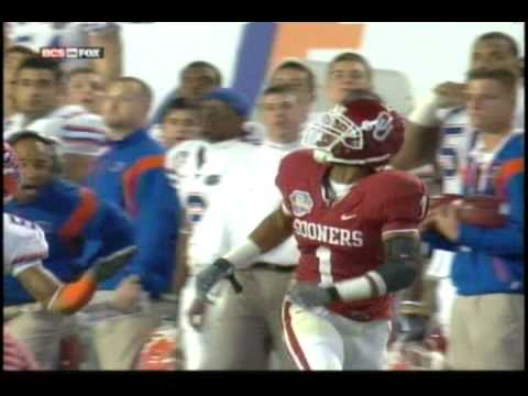 Major Wright BIG Hit  on Oklahoma