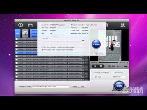 MacX DVD Ripper Pro Software Walk Through