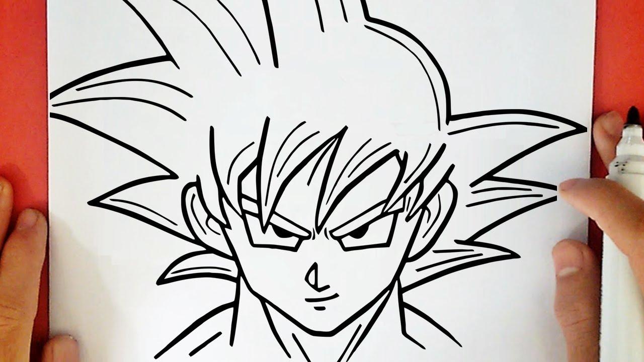 50 Imágenes De Goku Para Dibujar: COMO DESENHAR O GOKU