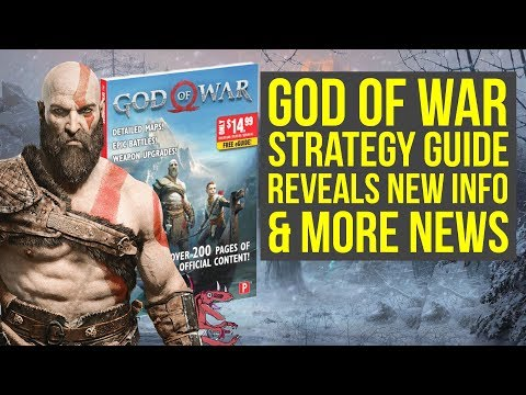 God of War News Weapon Upgrades, Boats Are Important & More New Info (God of War 4 - God of War 5)