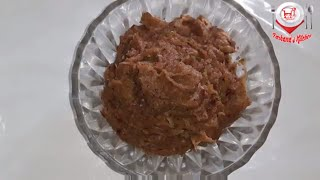 How to make Bengali style Till Bhorta ( বাংলাদেশী  তিল ভর্তা রেসিপি) recipe